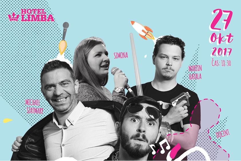 SILNÉ REČI stand-up comedy show 27.10.2017 18:30 hod